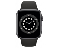 Apple Watch 6 44/Space Gray Aluminium/Black Sport LTE - 592197 - zdjęcie 2
