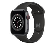 Apple Watch 6 44/Space Gray Aluminium/Black Sport LTE - 592197 - zdjęcie 1