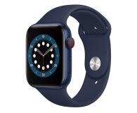 Apple Watch 6 44/Blue Aluminium/Deep Navy Sport LTE - 592203 - zdjęcie 1