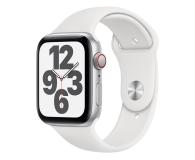 Apple Watch SE 44/Silver Aluminium/White Sport LTE - 592330 - zdjęcie 1