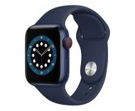 Apple Watch 6 40/Blue Aluminium/Deep Navy Sport LTE - 592202 - zdjęcie 1