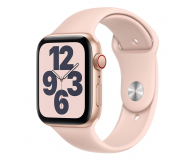 Apple Watch SE 44/Gold Aluminium/Pink Sport LTE - 592328 - zdjęcie 1