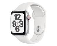 Apple Watch SE 40/Silver Aluminium/White Sport LTE - 592329 - zdjęcie 1