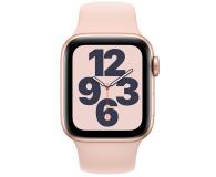 Apple Watch SE 40/Gold Aluminium/Pink Sport LTE - 592327 - zdjęcie 2