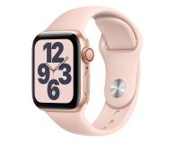 Apple Watch SE 40/Gold Aluminium/Pink Sport LTE - 592327 - zdjęcie 1