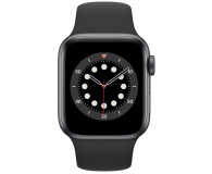 Apple Watch 6 40/Space Gray Aluminium/Black Sport LTE - 592198 - zdjęcie 2