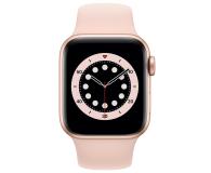 Apple Watch 6 40/Gold Aluminium/Pink Sport LTE - 592199 - zdjęcie 2