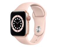 Apple Watch 6 40/Gold Aluminium/Pink Sport LTE - 592199 - zdjęcie 1