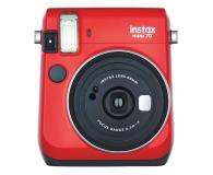 Fujifilm Instax Mini 70 czerwony  - 590327 - zdjęcie 1
