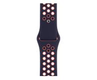 Apple Pasek Sportowy Nike do Apple Watch niebieski/mango - 592471 - zdjęcie 1