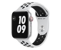Apple Watch SE Nike 44/Silver/Black Sport LTE - 593017 - zdjęcie 1