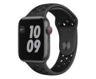 Apple Watch SE Nike 44/Space Gray/Black Sport LTE - 593019 - zdjęcie 1