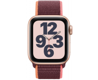 Apple Watch SE 40/Gold Aluminium/Plum Sport Loop LTE - 593160 - zdjęcie 2