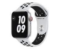 Apple Watch 6 Nike 44/Silver/Black Sport LTE - 592999 - zdjęcie 1