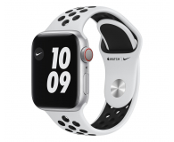 Apple Watch 6 Nike 40/Silver/Black Sport LTE - 593001 - zdjęcie 1