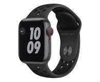 Apple Watch 6 Nike 40/Space Gray/Black Sport LTE - 593000 - zdjęcie 1