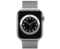 Apple Watch 6 44/Silver Steel/Silver Loop LTE - 593155 - zdjęcie 2
