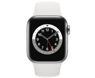 Apple Watch 6 40/Silver Steel/White Sport LTE - 593140 - zdjęcie 2
