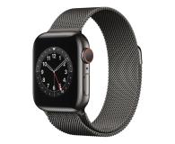 Apple Watch 6 40/Graphite Steel/Graphite Loop LTE - 593157 - zdjęcie 1