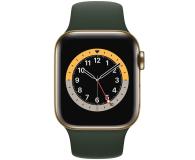 Apple Watch 6 40/Gold Steel/Cyprus Green Sport LTE - 593149 - zdjęcie 2