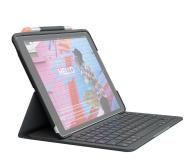 """Logitech Slim Folio iPad 10.2"""" (7. i 8. gen) - 590799 - zdjęcie 1"""