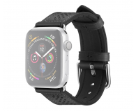 Spigen Pasek Skórzany Retro Fit do Apple Watch czarny - 527314 - zdjęcie 1