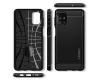 Spigen Rugged Armor do Samsung Galaxy M31s Black - 591537 - zdjęcie 3