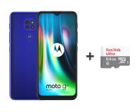 Motorola Moto G9 Play 4/64GB Sapphire Blue + 64GB - 586279 - zdjęcie 1
