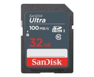 SanDisk 32GB SDHC Ultra C10 100MB/s UHS-I - 617433 - zdjęcie 1
