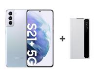 Samsung Galaxy S21+ 8/256 Dual SIM Silver+Clear View Cover - 619096 - zdjęcie 1