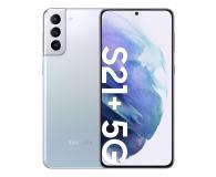 Samsung Galaxy S21+ 8/256 Dual SIM Silver+Clear View Cover - 619096 - zdjęcie 2