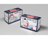 Fujifilm Instax Mini 70 czerwony + wkłady 2x10+ etui - 619875 - zdjęcie 8