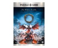 CENEGA Elder Scrolls: Vista of Greymoor Puzzles 1000 - 623323 - zdjęcie 1