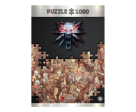 CENEGA The Witcher (Wiedźmin): Birthday puzzles 1000