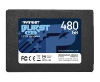 "Patriot 480GB 2,5"" SATA SSD BURST ELITE - 622637 - zdjęcie 1"