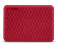 Toshiba Canvio Advance 2TB USB 3.2 Czerwony - 625824 - zdjęcie 1