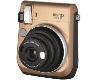 Fujifilm Instax Mini 70 złoty+ wkłady 2x10+ etui białe - 629575 - zdjęcie 2
