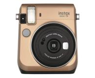 Fujifilm Instax Mini 70 złoty+ wkłady 2x10+ etui białe - 629575 - zdjęcie 1