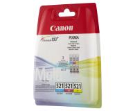 Canon Zestaw CLI-521CMY - 44446 - zdjęcie 2