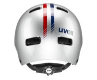 UVEX Kask Kid 3 race srebrny 51-55 cm - 628402 - zdjęcie 3