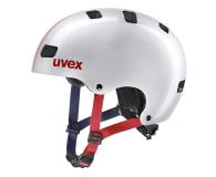 UVEX Kask Kid 3 race srebrny 51-55 cm - 628402 - zdjęcie 1