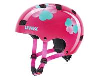 UVEX Kask Kid 3 różowy kwiatki 55-58 cm - 628409 - zdjęcie 1