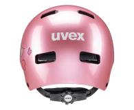 UVEX Kask Kid 3 różowy serca 51-55 cm - 628410 - zdjęcie 3