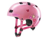 UVEX Kask Kid 3 różowy serca 51-55 cm - 628410 - zdjęcie 1