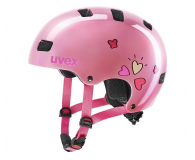 UVEX Kask Kid 3 różowy serca 55-58 cm - 628411 - zdjęcie 1
