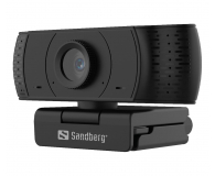 Sandberg USB Office Webcam 1080P HD - 629834 - zdjęcie 1