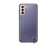 Samsung Clear Protective Cover do Galaxy S21+ Black - 617451 - zdjęcie 1
