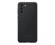 Samsung Silicone Cover do Galaxy S21+ Black - 617438 - zdjęcie 2