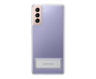 Samsung Clear Standing Cover do Galaxy S21+ - 617455 - zdjęcie 2
