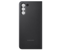 Samsung Clear view cover do Galaxy S21+ Black - 617423 - zdjęcie 4